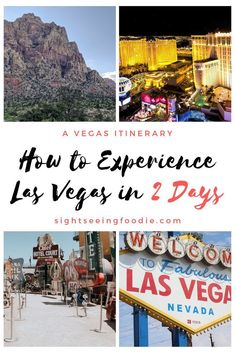 How to Experience Las Vegas in 2 Days – Sightseeing Foodie Las Vegas is the place to be for entertainment and excitement. As a resident of Las Vegas, I've outlined the ideal itinerary for your trip. Best States To Visit, Las Vegas Vacation, Las Vegas Travel Guide, Las Vegas With Kids, Paris Las Vegas, Nevada Usa, Las Vegas Nevada, Best Cities, Best Vacations