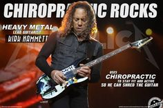 Keep thrashing with Chiropractic.  Kirk cousin is a chiropractor and goes on tour to treat the members of Metallica.