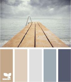 Palette for choosing floor tile or floor paint