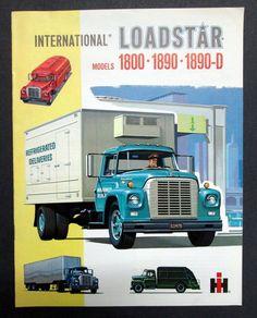IH International Harvester 1962 1800, 1890, & 1890-D Truck Brochure