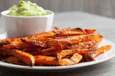 If you never tried to bake your fries in the oven then you should definitely give these perfect crispy sweet potato fries a chance.