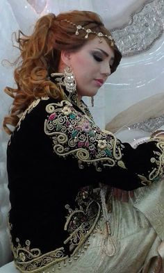 Algerian Fashion: karakou jacket