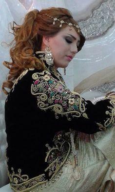 Algerian Fashion: karakou jacket