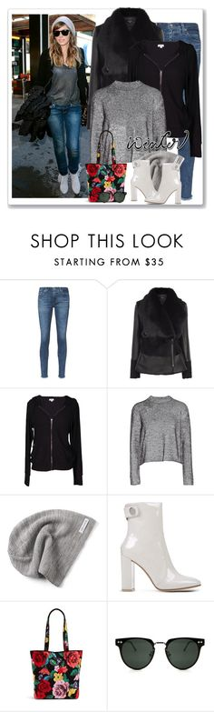 """""""Sundance Winter"""" by majezy ❤ liked on Polyvore featuring AG Adriano Goldschmied, Velvet by Graham & Spencer, T By Alexander Wang, Converse, Gianvito Rossi, Vera Bradley and Spitfire"""