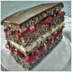 Meggyes- mákos-csokis-süti -paleoA receptet köszönöm szépenAnitának az eredeti receptitt