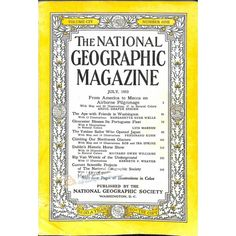 National Geographic Magazine, July 1953 | $9.80