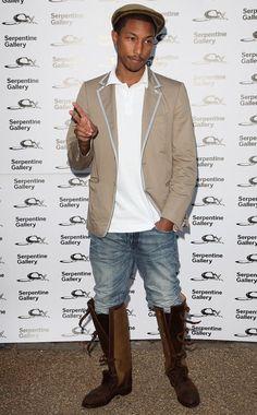 He got style