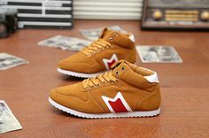 Stylish Color Block and Lace-Up Design Casual Shoes For Men