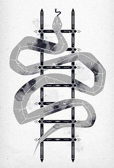 'snake and ladder' by *dzeri on deviantART Snake Game, Board Game Design, Gaming Tattoo, Brand Book, A Level Art, Hand Illustration, Art Boards, Aesthetic Wallpapers, Ladder