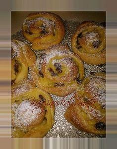 Greek Sweets, Greek Desserts, Greek Recipes, Canning Recipes, Cookbook Recipes, Sweets Recipes, Donuts, Sweet Buns, Sweets Cake