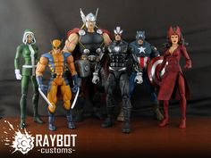 ... Uncanny Avengers Scarlet Witch custom figure - Raybot Customs   eBay