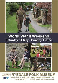WWII weekend at Ryedale Folk Museum - The Kirkbymoorside Town Blog