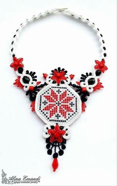Traditional Romanian Necklace