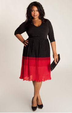 http://www.curvety.com/dresses-c1/party-dresses-c14/igigi-bardot-plus-size-dress-in-black-red-p225