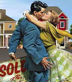 housewife, husband, house