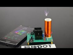 How to Make Wireless Energy - Mini Tesla Coil - YouTube
