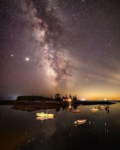 "Ryan Zipp | New Englander on Instagram: """"Milk Over Witch's Island"" On my recent trip up to Boothbay Harbor I had planned on shooting a variety of subjects but the Milky Way was…"""