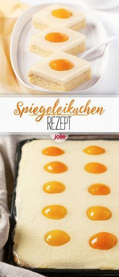 Easter recipes: fried egg cake- Osterrezepte: Spiegeleikuchen Great sweet, simple, healthy recipe for baking or cooking in spring. Also as an Easter meal, Easter, eat with the family for dessert / dessert / breakfast. Cupcake Recipes, Baking Recipes, Dessert Recipes, Egg Recipes, Recipes Dinner, Fruit Recipes, Quick Recipes, Pizza Recipes, Paleo Recipes