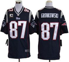 Nike Patriots Rob Gronkowski Blue Team Color Mens NFL Game Jersey And  Cowboys Sean Lee 50 jersey