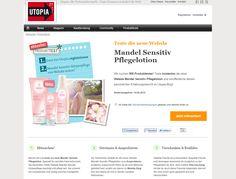 500 ProdukttesterInnen für die neue Weleda Mandel Sensitiv Pflegelotion gesucht! Utopiasucht 500 ProdukttesterInnen für die neue Weleda Mandel...