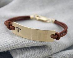 Silver Plate Medical Alert ID Hommes Bracelet Tressé De Corde Bracelet Gravure Gratuite