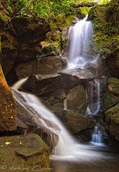 Waterfall in Costa Rica - gonna mark this off in Dec yay :)