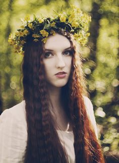 Forest Soul by *Snowfall-lullaby on deviantART  I said 20 years ago, but no black roots!