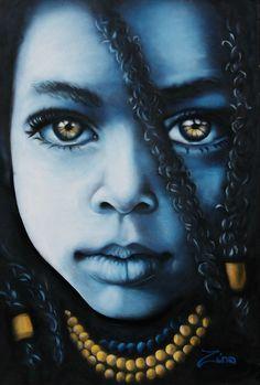 Rasta Baby - Street Artist Zina