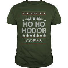 Ho Ho Hodor Christmas