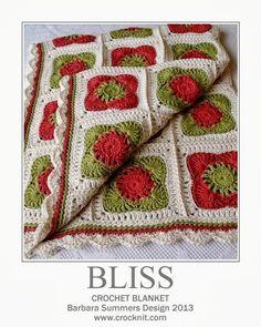 BLISS Baby Blanket PATTERN