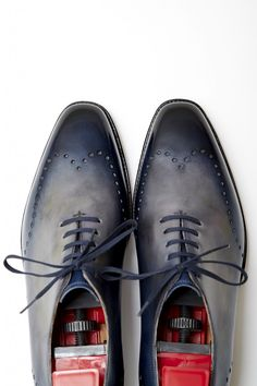 Tony II in a patina by Dandy Shoe Care  http://www.theshoesnobblog.com/