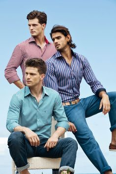 Marlon Teixeira, Diego Miguel & Michael Camiloto Front Individuals Spring/Summer 2013 Campaign