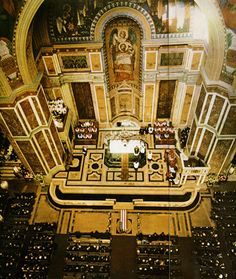 11/25/63 - JFK's funeral in St. Matthew's Cathedral.