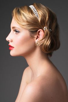 Bridal Makeup #Hair #red #lips