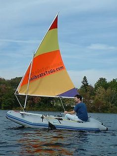 Sail kit for #inflatable #tenders, #dinghy, zodiac and other hard transom boats ,  View more on the LINK: http://www.zeppy.io/product/gb/2/121285060428/