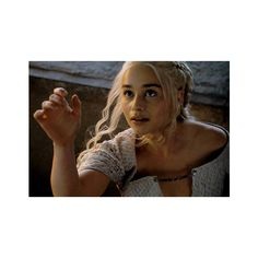 Game of Thrones Season 5 Trailer Daenerys Targaryen Is Ready to Rule... ❤ liked on Polyvore featuring emilia clarke