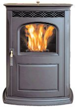 Accentra by Harmon pellet stove - cute and efficient!
