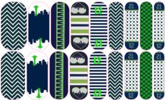 Seattle | Jamberry Nails, Want to order these from me, contact me at jennymedalf@gmail.com