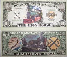 Noventy Note  Money-X2 GAS STATIONS  Dollar Bill  Collectible 1 FAKE