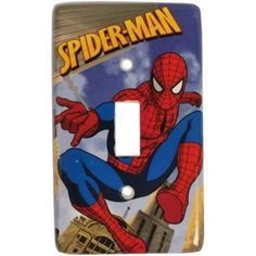 Spiderman Switch Light Cover