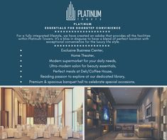 Enjoy the Platinum Freedom Enjoy the Platinum freedom to choose your kind of apartment The project p 3/4 Beds, Aluminium Windows, Shopping Malls, Business Centre, Luxury Apartments, Luxury Life, Design Crafts, Balcony, Freedom