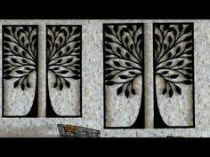 Amazing DIY Home Decor Wall Art using Cardboard ~ Crazzy Craft