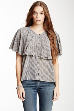 MiH || Cape Silk Shirt