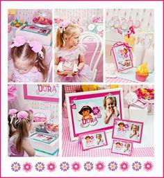 ON THE BLOG - Dora Explorer Party by Little Dance - www.littledanceinvitations.com.au