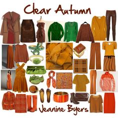 Deciding Between Soft Autumn, Warm Autumn and Deep Autumn Colour Combinations Fashion, Color Combinations For Clothes, Fashion Colours, Deep Autumn, Warm Autumn, Seasonal Color Analysis, Quoi Porter, Fall Color Palette, Fall Capsule Wardrobe