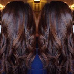 French Brown Sombre Balayage