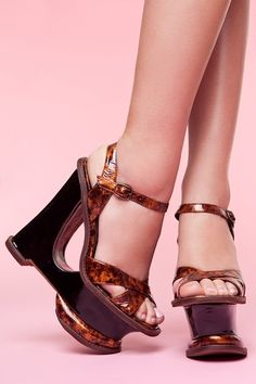 The Hare 2 Platform Wedge by Jeffrey Campbell.