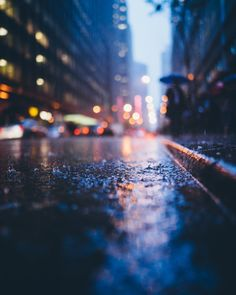 The Rain Soaked City by Dave Krugman