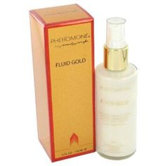Pheromone By Marilyn Miglin Fluid Gold Lotion 4 Oz