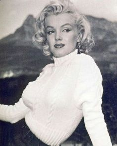 """Marilyn during the filming of """"River of No Return"""". Photo by John Vachon, 1953."""